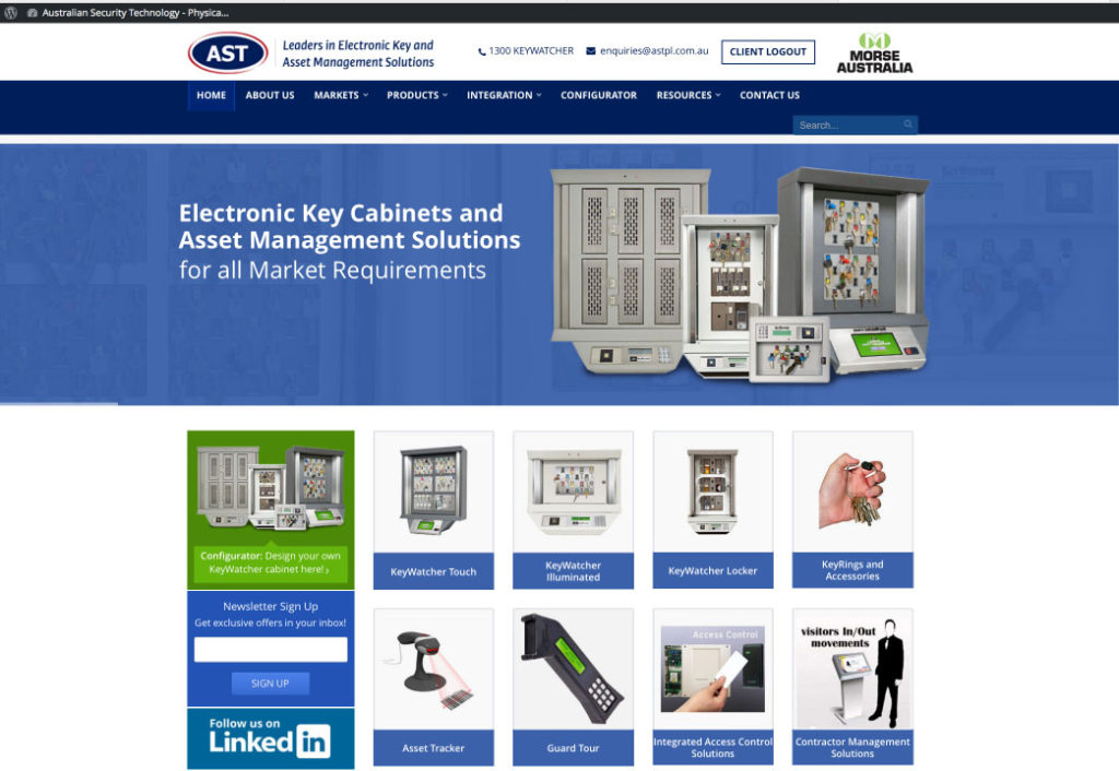 Australian Security Technology Pty Ltd (ASTPL)'s new website has just gone live.