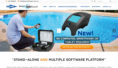 WaterLink Spin electronic pool water testing now comes as with touch capability